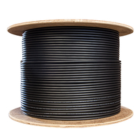 CyberPower CSTII1000 304.8m Black fiber optic cable