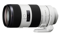 Sony SAL70200G2 Telephoto lens Black, White camera lense