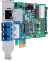 Allied Telesis AT-2911GP/SXSC Internal Ethernet/Fiber 1000Mbit/s networking card