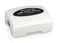 TP-LINK Single USB2.0 Port Fast Ethernet Print Server Ethernet LAN print server