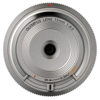 Olympus BCL-1580 MILC Wide lens Silver