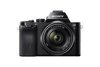 Sony α 7 + 28 - 70mm MILC 24.3MP CMOS 6000 x 4000pixels Black
