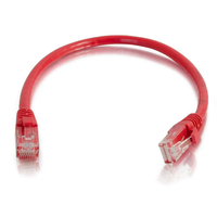C2G 0.5m Cat6 Booted Unshielded (UTP) Network Patch Cable - Red