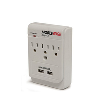 Mobile Edge DualPower DX Indoor White mobile device charger
