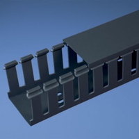 Panduit G1.5X1.5BL6 Straight cable tray Black cable tray