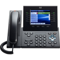 Cisco 8961 Wired handset 5lines LCD Charcoal IP phone