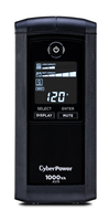CyberPower CP1000AVRLCD 1000VA Tower uninterruptible power supply (UPS)