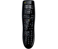 Logitech Harmony 350 IR Wireless Press buttons Black remote control