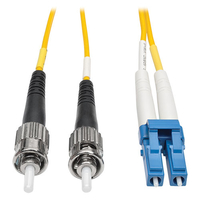 Tripp Lite N368-05M 5m 2x LC 2x ST Yellow, Blue, Black fiber optic cable