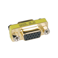 Tripp Lite P160-000 VGA (D-Sub) VGA (D-Sub) Gold cable interface/gender adapter