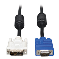Tripp Lite P556-006 1.83m DVI-A VGA (D-Sub) Black video cable adapter