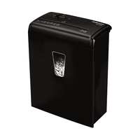 Fellowes Powershred H-6C Cross shredding 65dB Black Paper Shredder