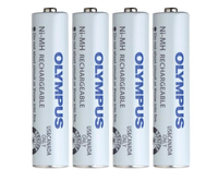 Olympus BR-404 Nickel Metal Hydride 750mAh 1.2V rechargeable battery
