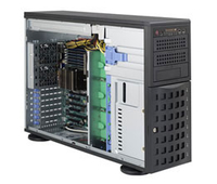 Supermicro SuperChassis 745BTQ-R1K28B-SQ Tower 1280W Black computer case