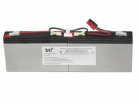 BTI RBC18-SLA18- Sealed Lead Acid 9000mAh 6V rechargeable battery