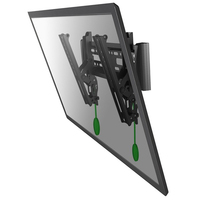 "Newstar NM-W125BLACK 40"" Black flat panel wall mount"