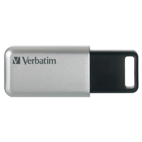 Verbatim Secure Pro 64GB USB 3.0 (3.1 Gen 1) Type-A Black,Grey USB flash drive