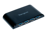 Targus USB 3.0 4-Port Hub Black interface hub