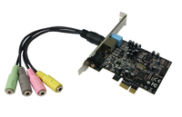 Siig IC-510211-S1 Internal 5.1channels PCI-E audio card
