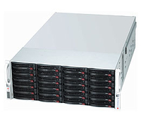 Supermicro SuperChassis 847E2C-R1K28JBOD Rack 1280W Black,Stainless steel computer case
