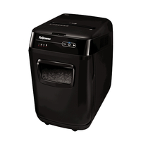 Fellowes AutoMax 200C Cross shredding 60dB Black Paper Shredder