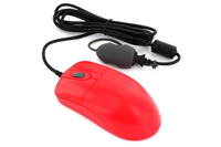Seal Shield Silver Storm USB IR LED 1000DPI Right-hand Red mice