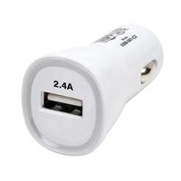 Tripp Lite U280-001-C2 Auto White mobile device charger