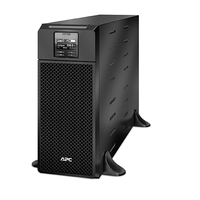 APC SRT6KXLT Double-conversion (Online) 6000VA 6AC outlet(s) Compact Black uninterruptible power supply (UPS)