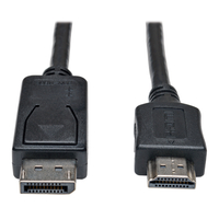 Tripp Lite P582-003 0.91m DisplayPort HDMI Black video cable adapter