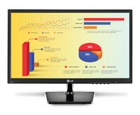 "LG 22MC37D-B 21.5"" Full HD TN Black computer monitor LED display"