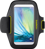 "Belkin F8M941BTC02 5.1"" Armband case Black, Lime mobile phone case"