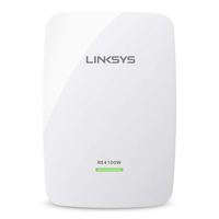 Linksys RE4100W Network repeater White