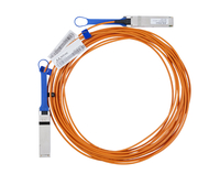 Mellanox Technologies LinkX 10m QSFP QSFP Orange InfiniBand cable