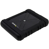 "StarTech.com S251BRU33 HDD/SSD enclosure 2.5"" Black storage enclosure"