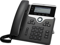 Cisco 7811 Wired handset 1lines LED Black,Silver IP phone