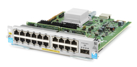 Hewlett Packard Enterprise 20-port 10/100/1000BASE-T PoE+ MACsec / 1-port 40GbE QSFP+ v3 zl2 Gigabit Ethernet network switch mod