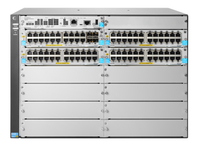 Hewlett Packard Enterprise 5412R 92GT PoE+ & 4-port SFP+ (No PSU) v3 zl2 Managed L3 Gigabit Ethernet (10/100/1000) Power over Et