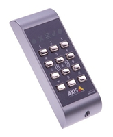 Axis A4011-E Basic access control reader Zwart, Grijs