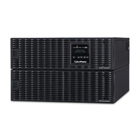 CyberPower OL8000RT3UPDU Double-conversion (Online) 8000VA 7AC outlet(s) Rackmount/Tower Black uninterruptible power supply (UPS