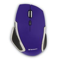 Verbatim Deluxe RF Wireless Blue LED Right-hand Purple mice