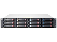 Hewlett Packard Enterprise MSA 1040 2-port SAS Dual Controller LFF Rack (2U) Zwart, Grijs disk array