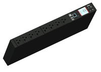 Raritan PX3-5145R 8AC outlet(s) 1U Black power distribution unit (PDU)
