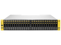 Hewlett Packard Enterprise E7Y23A Rack (2U) Black, Metallic disk array