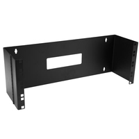 StarTech.com WALLMOUNTH4 Wall mounted rack 4U 15kg Black rack
