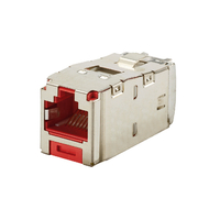 Panduit CJS688TGRDY RJ-45 Metallic,Red wire connector