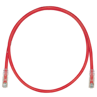 Panduit UTPSP4RDY 1.2m Cat6 U/UTP (UTP) Red networking cable
