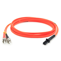 Add-On Computer Peripherals (ACP) ADD-ST-MTRJ-3M6MMF 3m ST MT-RJ Orange fiber optic cable
