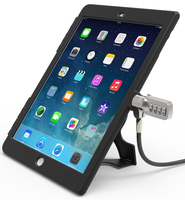 Compulocks IPAD AIR BB Black, Silver cable lock