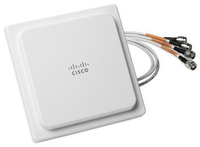 Cisco AIR-ANT2524V4CR-RF Omni-directional antenna RP-TNC 4dBi network antenna