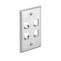 Panduit CFP4SY Stainless steel switch plate/outlet cover